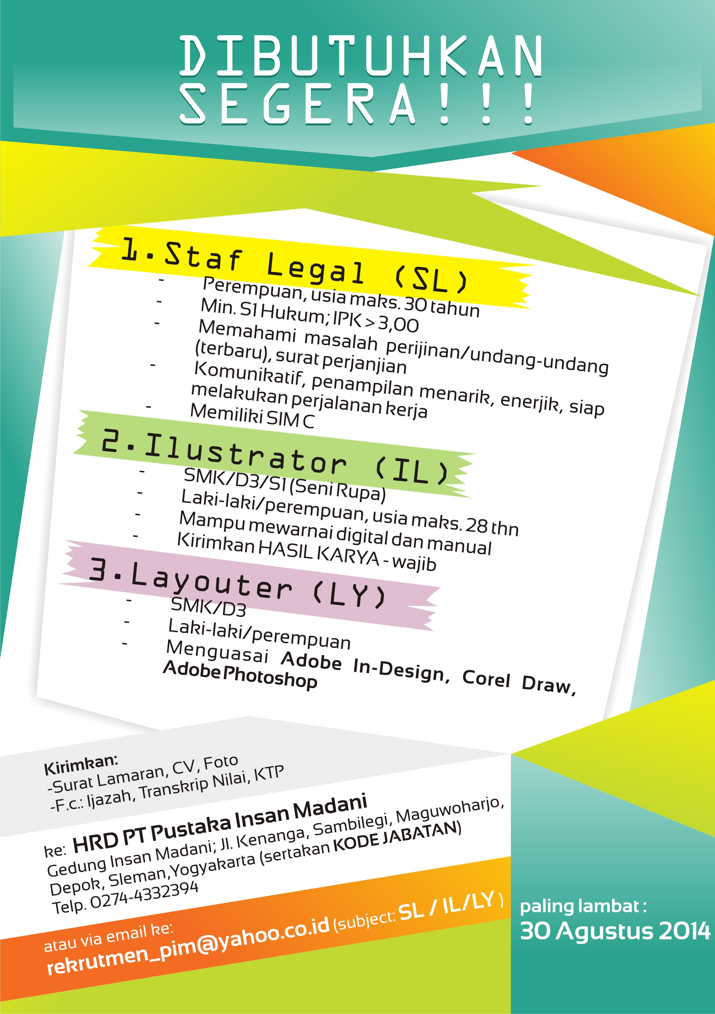 Contoh Surat Lamaran Di Pt Indosat