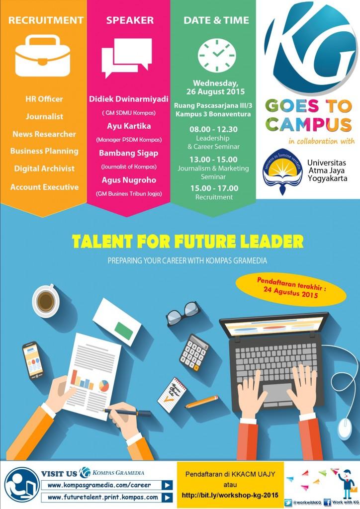 Print Kompas Gramedia Goes to Campus