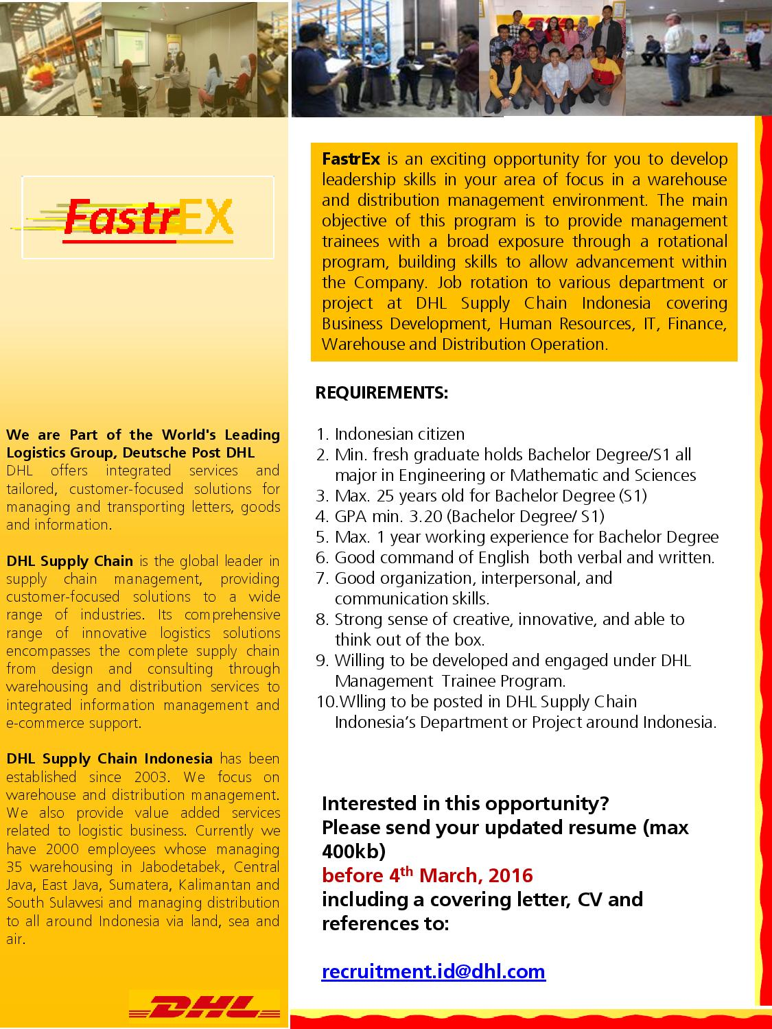 case study supply chain management dhl International inspirations case study  dhl express provided international inspirations with a true alternative to simplify a  dhl freight mail dhl supply chain.